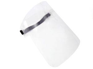 Przyłbica - model zapinany na gumkę