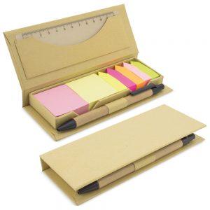 Kartonowy zestaw biurkowy