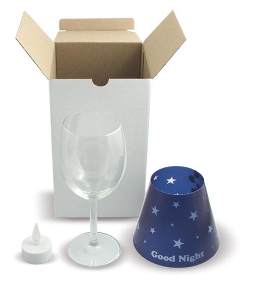 Mini lampka - pudełko