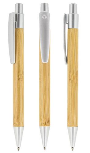 Notes z długopisem z bambusu